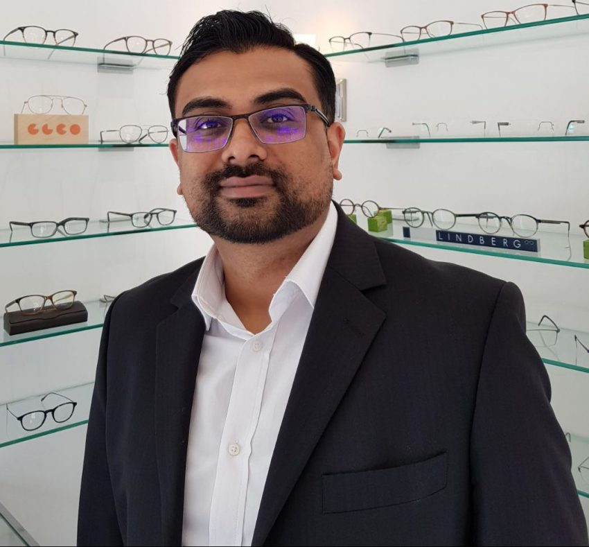 sachin patel senior optometrist safarian & simon opticians
